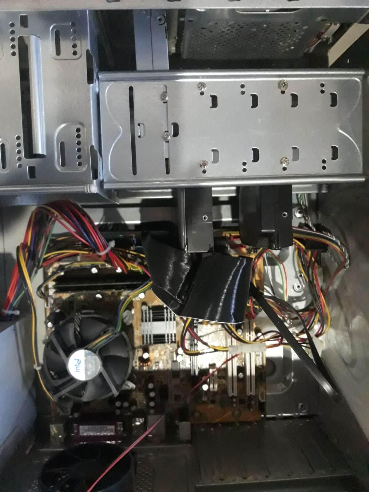 nitro hard disk değişimi